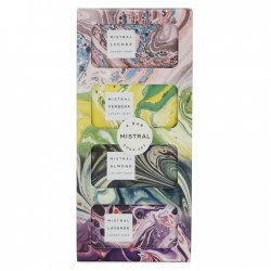Mistral Set of 4 Travel Soaps