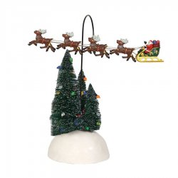 Department 56 Up, Up And Away Flying Sleigh