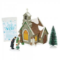 Department 56 Isle Of Wight Chapel