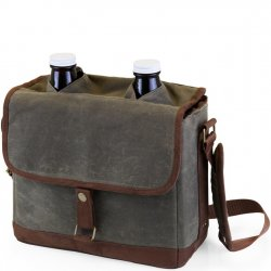 Picnic Time Double Growler with Carrier
