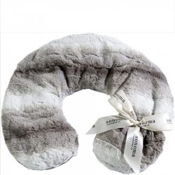 Sonoma Lavender Neck Pillow - Angora Platinum