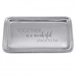 Mariposa Trinket Tray - Together is a Wonderful Place