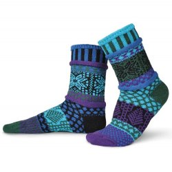 Solemate Sock - Blue Spruce