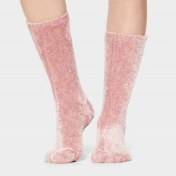 Ugg Cozy Chenille Sock - Pink Crystal