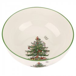 "SPODE ""Christmas Tree"" Large Round Bowl #1612303"