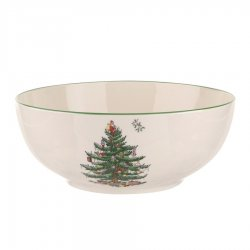 "SPODE ""Christmas Tree"" Medium Round Bowl #1612310"