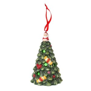 "SPODE ""Christmas Tree"" Multicolor LED Tree Ornament"