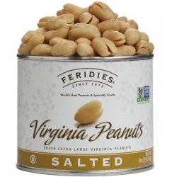 Feridies 9 oz Can Salted Virginia Peanuts