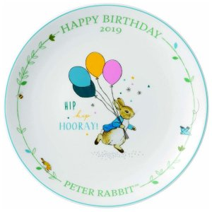 Wedgwood Peter Rabbit Birthday Plate