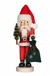 ULBRICHT Santa with Tree and Bag Style #32-540