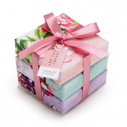 Mistral Set of 3 Tied Small Floral Soaps