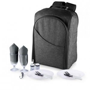 Picnic Time Colorado Backpack - Grey