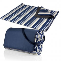 Picnic Time Blanket - Blue Stripe