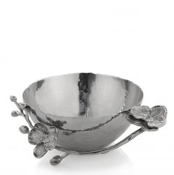 Michael Aram White Orchid Nut Bowl