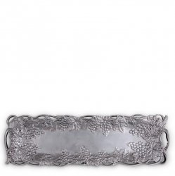 Arthur Court Grape Oblong Narrow Tray