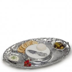 Arthur Court Grape Entertainment Tray 5 pc Set