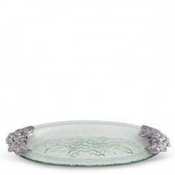 Arthur Court Grape Glass Platter