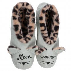 Faceplant Dreams Meow Slippers - Mint