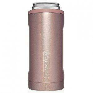 Brumate Hopsulator Slim - Glitter Rose Gold