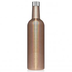 Brumate 25 oz Winesulator - Glitter Gold