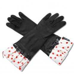 Gloveable Black with Red Dot