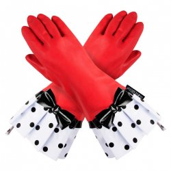 Gloveable Red with Black Dot