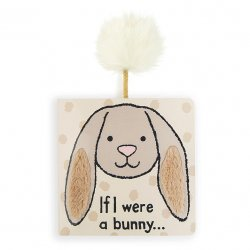 Jellycat Board Book - If I Were a Rabbit - Brown Bunny