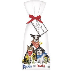 Mary Lake-Thompson Ltd. Everyday Rescue Pets Towel Set