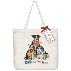 Mary Lake-Thompson Ltd. Everyday Rescue Pets Tote Bag