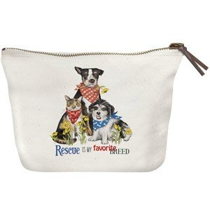 Mary Lake-Thompson Ltd. Everyday Rescue Dogs Canvas Pouch