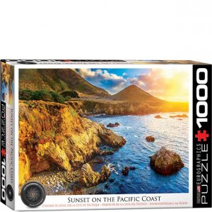 Eurographics Puzzle - 1000 pc Sunset on the Pacific Coast