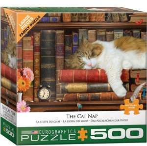Eurographics Puzzle - 500 pc Cat Nap