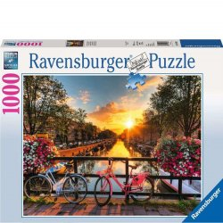 Ravensburger 1000 PC Puzzle - Bicycles in Amsterdam