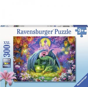 Ravensburger 300 PC Puzzle - Mystical Dragon Forest