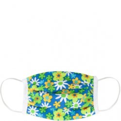 Kids 6 to 12 Face Mask - Flowers