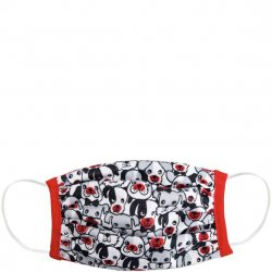 Kids 6 to 12 Face Mask - Puppies