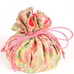 Jewelry Pouch - Pink/Lime