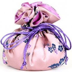 Jewelry Pouch - Pink Floral