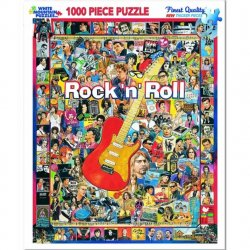 White Mountain 1000 pc Puzzle - Rock N Roll