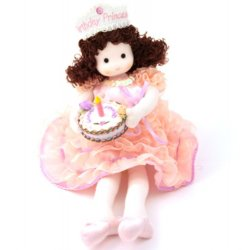 Musical Doll - Birthday Princess Brunette