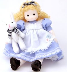 Musical Doll - Alice in Wonderland
