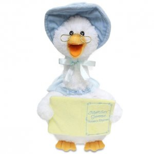 """Animated 14"""" Mother Goose Blue"""