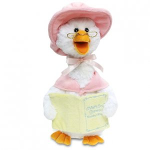 """Animated 14"""" Mother Goose Pink"""