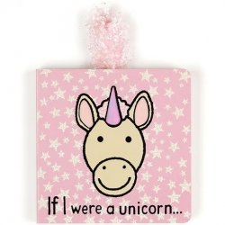 Jellycat Board Book - If I Were a Unicorn