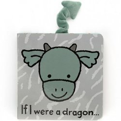 Jellycat Board Book - If I Were a Dragon