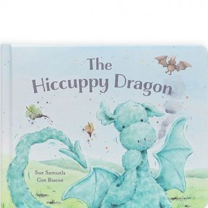 Jellycat Book - The Hiccuppy Dragon
