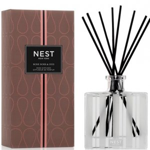 Nest Rose Noir and Oud - Reed Diffuser