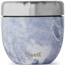 S'well Eats 2-in-1 Nesting Food Bowl - Blue Granite