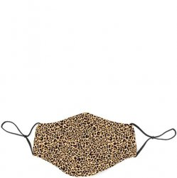 Fabric Face Mask - Leopard