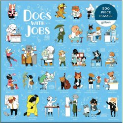 Gallison 500 pc Puzzle - Dogs With Jobs